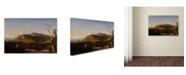 "Trademark Global Cropsey 'Catskill Mountain House' Canvas Art - 19"" x 12"" x 2"""