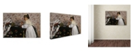 "Trademark Global Degas 'Portrait Of Hortense' Canvas Art - 19"" x 12"" x 2"""