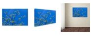 "Trademark Global Cora Niele 'Maple Flowers' Canvas Art - 24"" x 16"" x 2"""