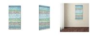"Trademark Global Cora Niele 'Alsace Wines' Canvas Art - 47"" x 24"" x 2"""