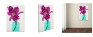"Trademark Global Cora Niele 'Purple Parrot Tulip' Canvas Art - 32"" x 22"" x 2"""
