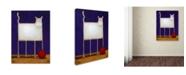 "Trademark Global Daniel Patrick Kessler 'Trouble' Canvas Art - 24"" x 18"" x 2"""