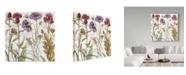 "Trademark Global Color Bakery 'Ambrosia 3' Canvas Art - 14"" x 14"" x 2"""