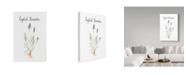 "Trademark Global Irina Trzaskos Studio 'Lavender' Canvas Art - 19"" x 12"" x 2"""