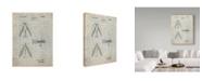 "Trademark Innovations Cole Borders 'Fishing Lure 1' Canvas Art - 47"" x 35"" x 2"""