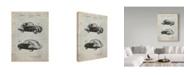 "Trademark Global Cole Borders 'Tatra Concept' Canvas Art - 24"" x 18"" x 2"""