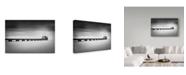 """Trademark Global Davide Carraro 'Atlante' Canvas Art - 32"""" x 2"""" x 22"""""""
