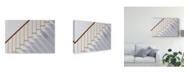 "Trademark Global Jacqueline Hammer 'Just Steps' Canvas Art - 19"" x 2"" x 12"""