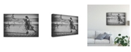 "Trademark Global Daisuke Kiyota 'Ominous Call Death' Canvas Art - 24"" x 2"" x 16"""