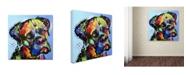 """Trademark Global Dean Russo 'Mastiff Warrior' Canvas Art - 35"""" x 35"""" x 2"""""""