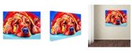 """Trademark Global DawgArt 'Ranger' Canvas Art - 18"""" x 24"""" x 2"""""""
