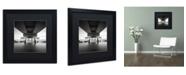 "Trademark Global Dave MacVicar 'Life Support' Matted Framed Art - 16"" x 16"" x 0.5"""