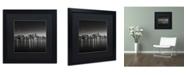 """Trademark Global Dave MacVicar 'Lights' Matted Framed Art - 16"""" x 16"""" x 0.5"""""""