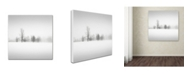 "Trademark Global Dave MacVicar 'Winter Fog' Canvas Art - 18"" x 18"" x 2"""
