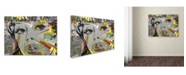 "Trademark Global Dan Monteavaro 'The Long Stretch' Canvas Art - 19"" x 14"" x 2"""
