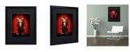 "Trademark Global J Hovenstine Studios 'Mice Series #1.5' Matted Framed Art - 16"" x 20"" x 0.5"""