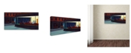 "Trademark Global Edward Hopper 'Nighthawks' Canvas Art - 32"" x 16"" x 2"""