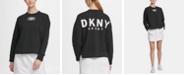 DKNY Sport Logo Patch Sweatshirt