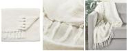 "Jaipur Living Lisabet Solid Ivory Throw 51"" X 67"""