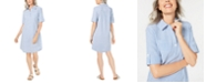 Karen Scott Petite Seersucker Shirtdress, Created for Macy's