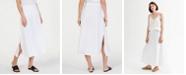 Eileen Fisher Organic Cotton A-Line Maxi Skirt