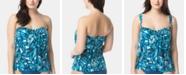 Coco Reef Contours Printed Bra-Sized Tankini Top