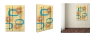 "Trademark Global Rachel Paxton 'Orbit City 1' Canvas Art - 32"" x 24"" x 2"""