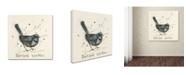 "Trademark Global Michelle Campbell 'Warbler' Canvas Art - 18"" x 18"" x 2"""