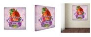 "Trademark Global Tina Lavoie 'Her Majesty' Canvas Art - 18"" x 18"" x 2"""
