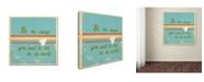 "Trademark Global Tammy Kushnir 'The Message' Canvas Art - 35"" x 35"" x 2"""