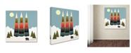 "Trademark Global Tammy Kushnir 'The Proud' Canvas Art - 14"" x 14"" x 2"""