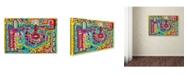 "Trademark Global Miguel Balbas 'Circuits XV' Canvas Art - 24"" x 16"" x 2"""