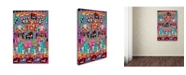 "Trademark Global Miguel Balbas 'Circuits XVI' Canvas Art - 47"" x 30"" x 2"""