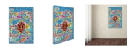 "Trademark Global Miguel Balbas 'Mix 2' Canvas Art - 19"" x 12"" x 2"""