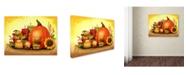 "Trademark Global Jennifer Nilsson 'Autumn Glow' Canvas Art - 32"" x 24"" x 2"""