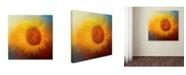 "Trademark Global Jai Johnson 'Sunflower Surprise' Canvas Art - 18"" x 18"" x 2"""