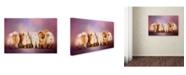 "Trademark Global Jai Johnson 'Waiting In Line' Canvas Art - 32"" x 22"" x 2"""