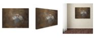 "Trademark Global Jai Johnson 'Walking Into Blue' Canvas Art - 32"" x 24"" x 2"""