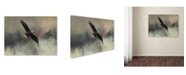 "Trademark Global Jai Johnson 'Winter Flight' Canvas Art - 32"" x 24"" x 2"""