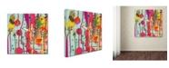 "Trademark Global Sylvie Demers 'Une Chanson' Canvas Art - 14"" x 14"" x 2"""