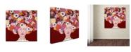 "Trademark Global Sylvie Demers 'Mes Pense?es' Canvas Art - 24"" x 24"" x 2"""