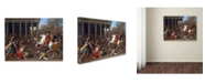 """Trademark Global Nicolas Poussin 'The Conquest' Canvas Art - 24"""" x 18"""" x 2"""""""