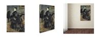 "Trademark Global Renoir 'Portrait Of Madame Georges Hartman' Canvas Art - 32"" x 22"" x 2"""