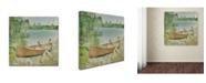 "Trademark Global Jean Plout 'Wilderness Lodge Q1' Canvas Art - 14"" x 14"" x 2"""