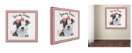 "Trademark Global Jean Plout 'Staffordshire Terrier 1' Canvas Art - 18"" x 18"" x 2"""