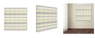 "Trademark Global Jean Plout 'Alpine Christmas 5' Canvas Art - 35"" x 35"" x 2"""