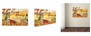 """Trademark Global Jean Plout 'Give Thanks 2' Canvas Art - 24"""" x 16"""" x 2"""""""
