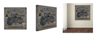 """Trademark Global Jean Plout 'Motorcycle Speedway 2' Canvas Art - 35"""" x 35"""" x 2"""""""