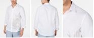Tasso Elba Men's Engineered Pelican-Print Linen Shirt, Created for Macy's