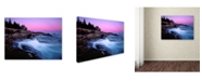 "Trademark Global Mike Jones Photo 'Acadia Dusk' Canvas Art - 24"" x 18"" x 2"""